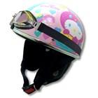 【RIDEZ】HELLO KITTY!復古彩兔 半罩型式安全帽