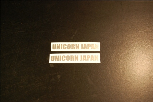 【UNICORN JAPAN】UNICORN JAPAN【安全帽貼紙】 - 「Webike-摩托百貨」
