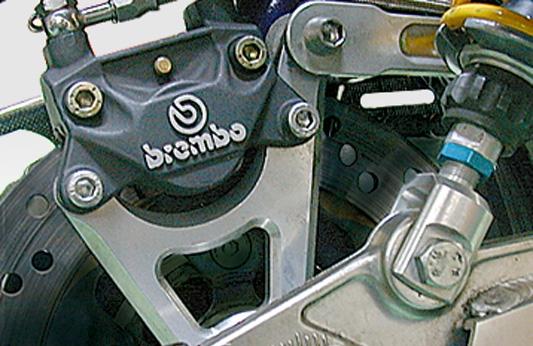 Brembo 2 POT 後煞車卡鉗座