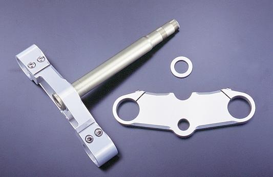 鋁合金切銷加工 43mm前叉用三角台套件 (17吋用)
