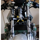 【UNICORN JAPAN】不銹鋼金屬煞車油管組 透明 (前-02)