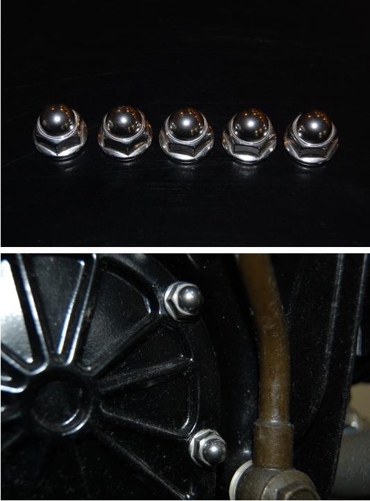 不銹鋼 機油濾芯蓋螺帽