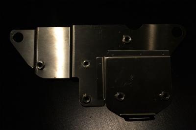 不銹鋼配線組與電系固定板
