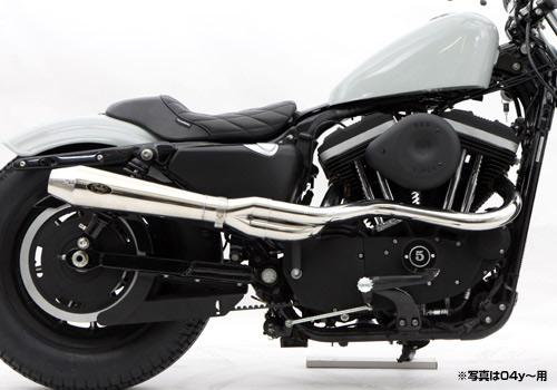 【EASYRIDERS】BOSSLEY Reventon Header 全段排氣管 - 「Webike-摩托百貨」