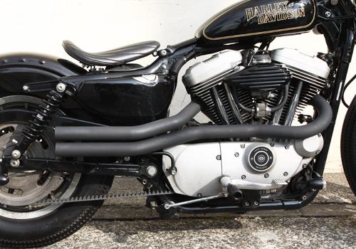 Shot pipe 全段排氣管 (黑色)