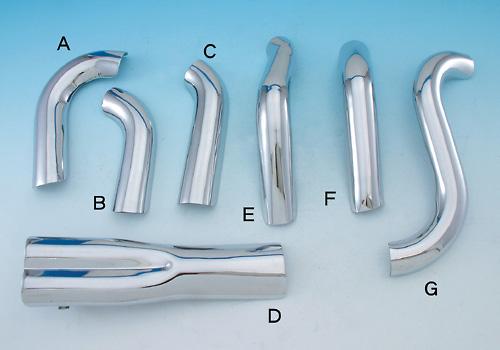 Thunder header 排氣管用 排氣管防燙蓋 (Type F)