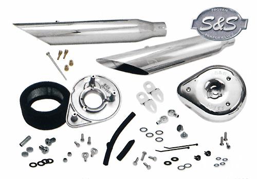 S&S Quick setup 排氣管尾段+ 空氣濾清器 套件