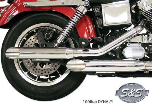 S&S 排氣管尾段組 Slash Cut Type