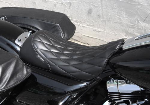 菱形格紋單座墊