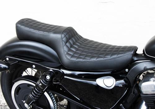 70s 方格紋雙座坐墊
