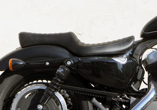 【EASYRIDERS】70s 方格紋雙座坐墊 - 「Webike-摩托百貨」