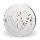 【EASYRIDERS】【Allen Ness製】Ness Logo Type 白金外蓋