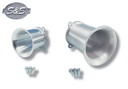 【EASYRIDERS】S&S 化油器用喇叭口 (E・G化油器 4吋) - 「Webike-摩托百貨」