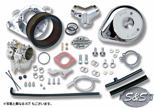 S&S SUPERE 化油器套件 (雙凸輪軸 99〜06年式用)