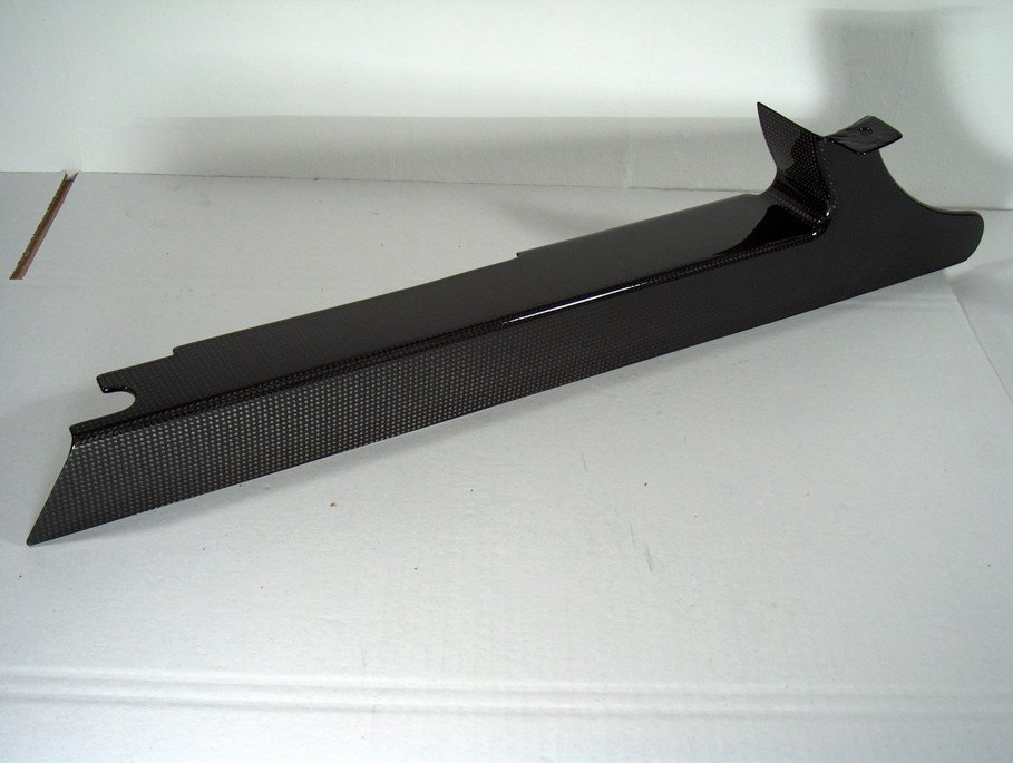 碳纖維皮帶蓋 (下側)