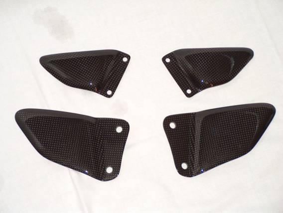 碳纖維腳跟護蓋 (4件式)