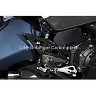 【ILMBERGER】碳纖維腳跟護蓋 (右側)