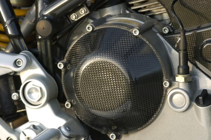DUCATI用 碳纖維離合器外蓋 (封閉型)