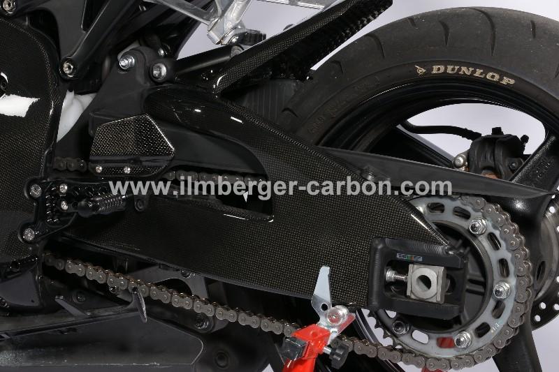 【ILMBERGER】碳纖維後搖臂外蓋 (左側) - 「Webike-摩托百貨」