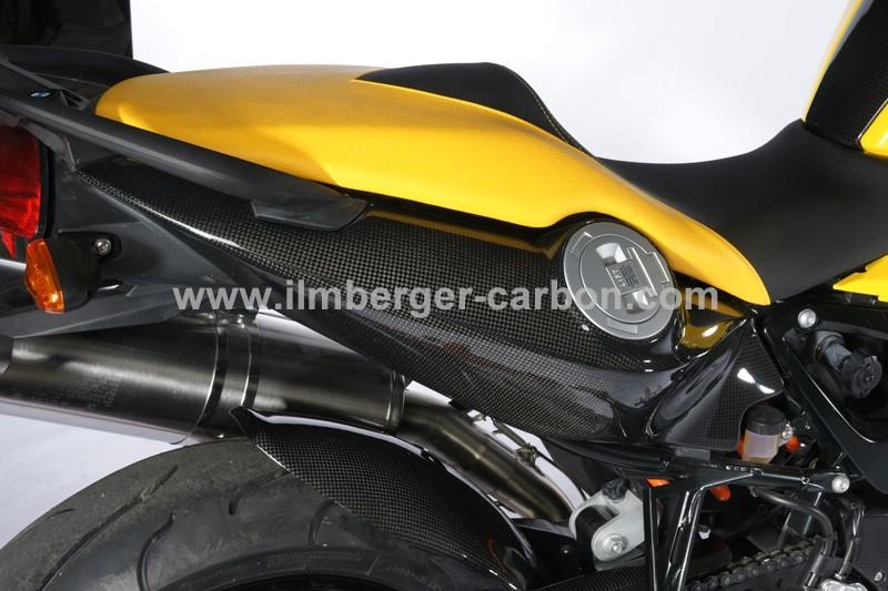 碳纖維車尾整流罩 (右)