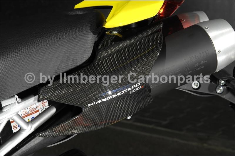 碳纖維車尾整流罩 (左)