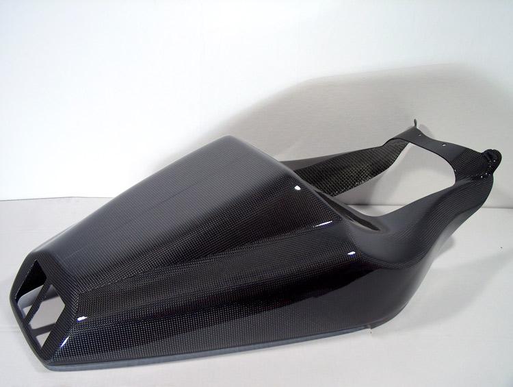 碳纖維坐墊整流罩單元