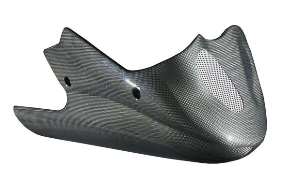 碳纖維下整流罩 (長)