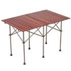 コールマン:COLEMAN/ガーデンウッドロールテーブル6