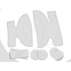 【PODMX】襯墊組套 左足用 - 「Webike-摩托百貨」