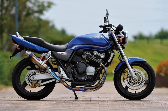 CB400SF Special Edition 全段排氣管(無腳踏套件)
