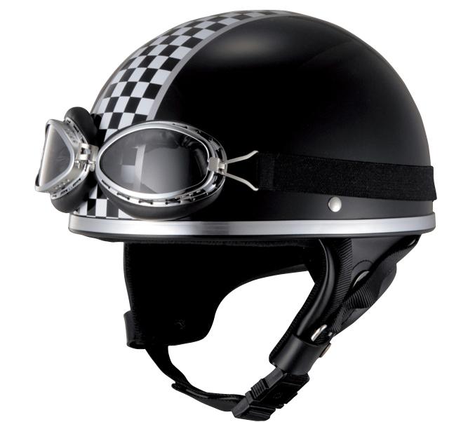 【JUQUE】CHECKER 復古 安全帽 - 「Webike-摩托百貨」