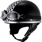 【JUQUE】CHECKER 復古 安全帽