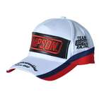 【SIMPSON】電繡商標白色小帽