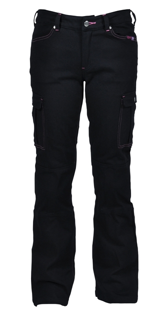 女用騎士車褲(黑)