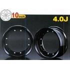 【G-Craft】4.0J 黑色 10英吋鋁合金輪框套件 4.0J