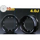 【G-Craft】4.0J 黑色 10英吋鋁合金輪框 4.0J