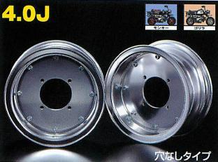 4.0J 封閉型式 銀色8英吋寬版輪框 4.0J(無開孔)