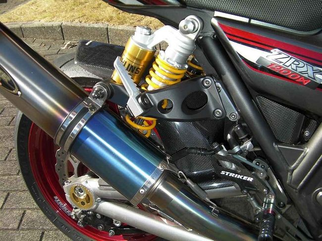 【STRIKER】Striker Aero Design 長版碳纖維後土除 - 「Webike-摩托百貨」