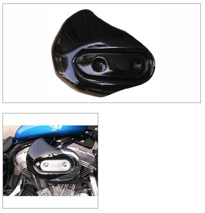 膝蓋穩定護蓋 (右) (黑色)