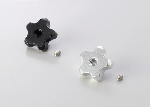 可調式拉桿專用星型調整器(維修替換品) 黑色