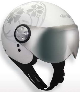 【GPA】FLOWER四分之三安全帽 - 「Webike-摩托百貨」