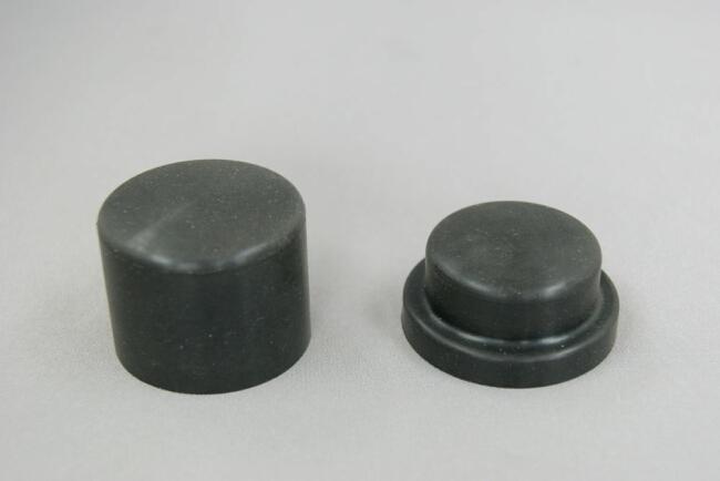 橡膠製輪軸裝飾蓋