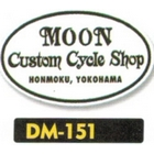 【MOON EYES】Custom Cycle Shop 貼紙