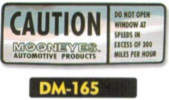 Caution 貼紙
