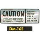 【MOON EYES】Caution 貼紙