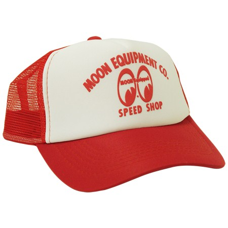 【MOON EYES】TRUCKER CAP 網帽 - 「Webike-摩托百貨」