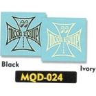 【MOON EYES】Iron Cross decal 貼紙