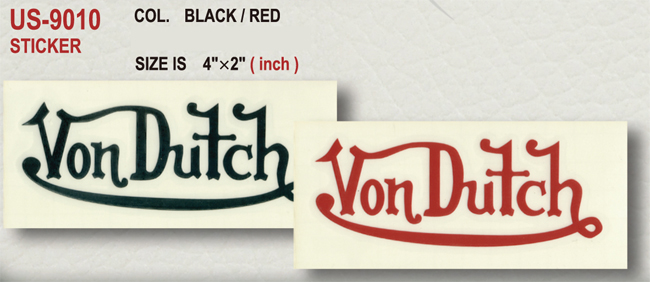 【Von Dutch】貼紙 - 「Webike-摩托百貨」
