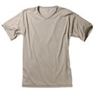 プロモンテ:PuroMonte/ダクロンQD 天竺半袖VネックTシャツ (メンズ)