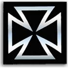 【DRC】SH1937十字貼紙(黑)